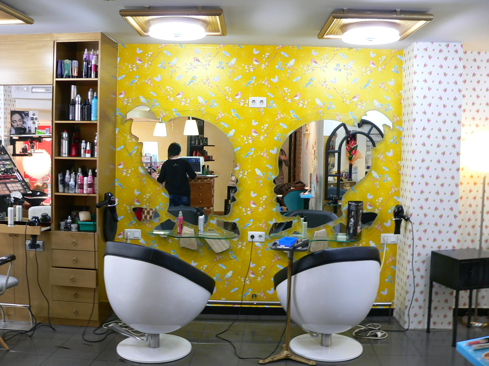 Peluquer a etnia filigrana urbana - Decoracion para peluqueria ...
